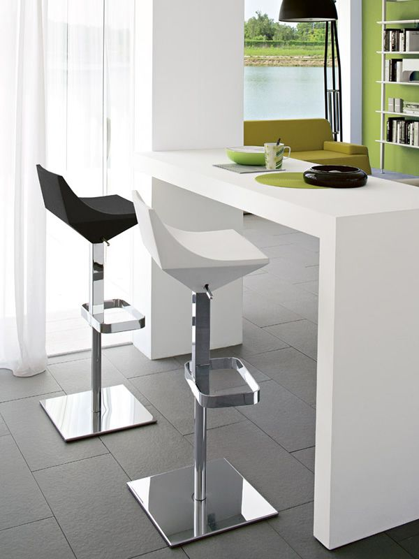 CB1040 Fly: Connubia - Calligaris stool, swivel and ...