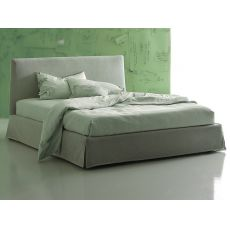 Asti - Padded double bed, available with several totally removable coverings and sizes