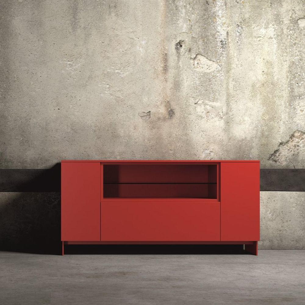 Pareti dipinti di grigio e rosso for Catalogo mobili on line