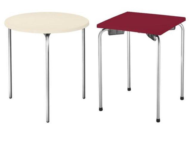 Staky per bar e ristoranti tavolo impilabile per bar in for Tavoli da bar ikea