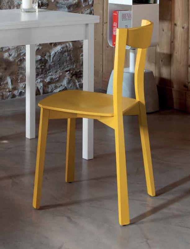 Chili: silla domitalia de madera, disponible en varios colores ...