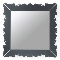 Novecento Iron.q - Espejo cuadrado de Colico Design, 94x94 cm, de acero disponible en distintos colores