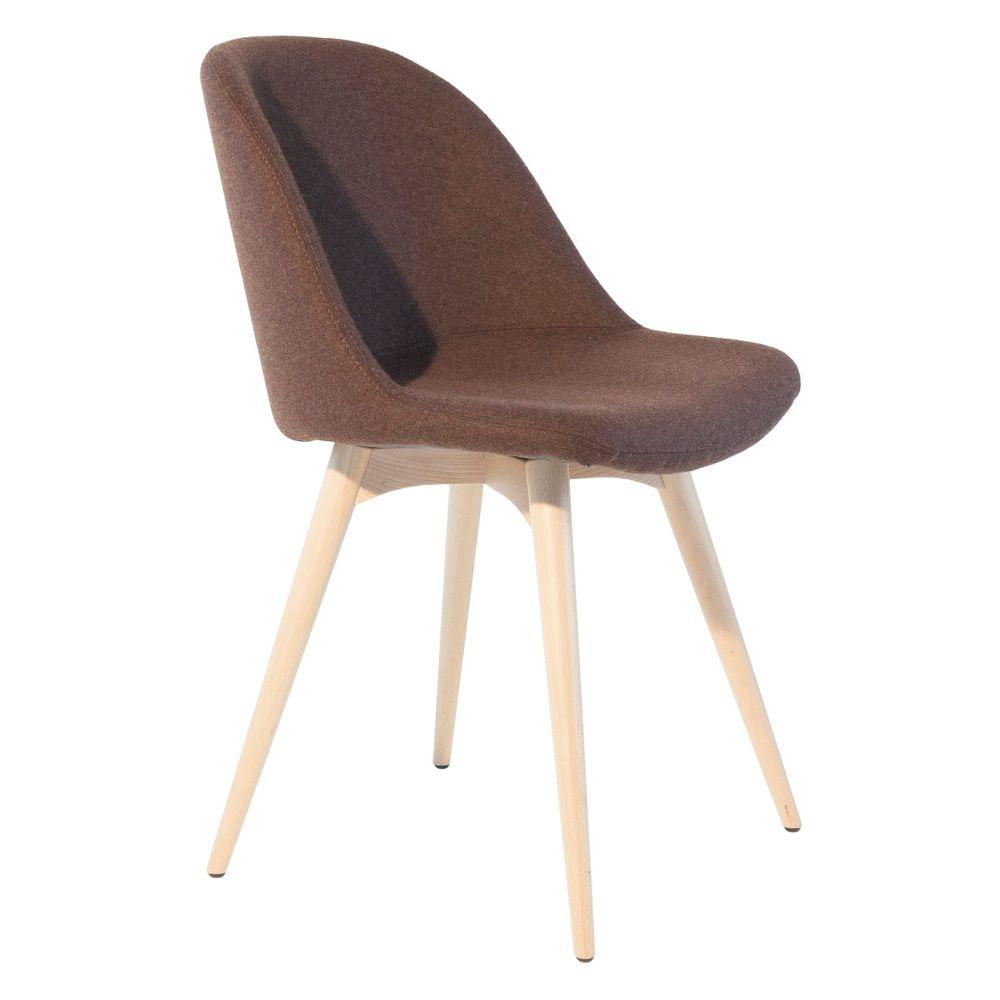 sonny lg stuhl midj aus holz sitz aus leder kunstleder oder stoff bezogen in verschiedenen. Black Bedroom Furniture Sets. Home Design Ideas