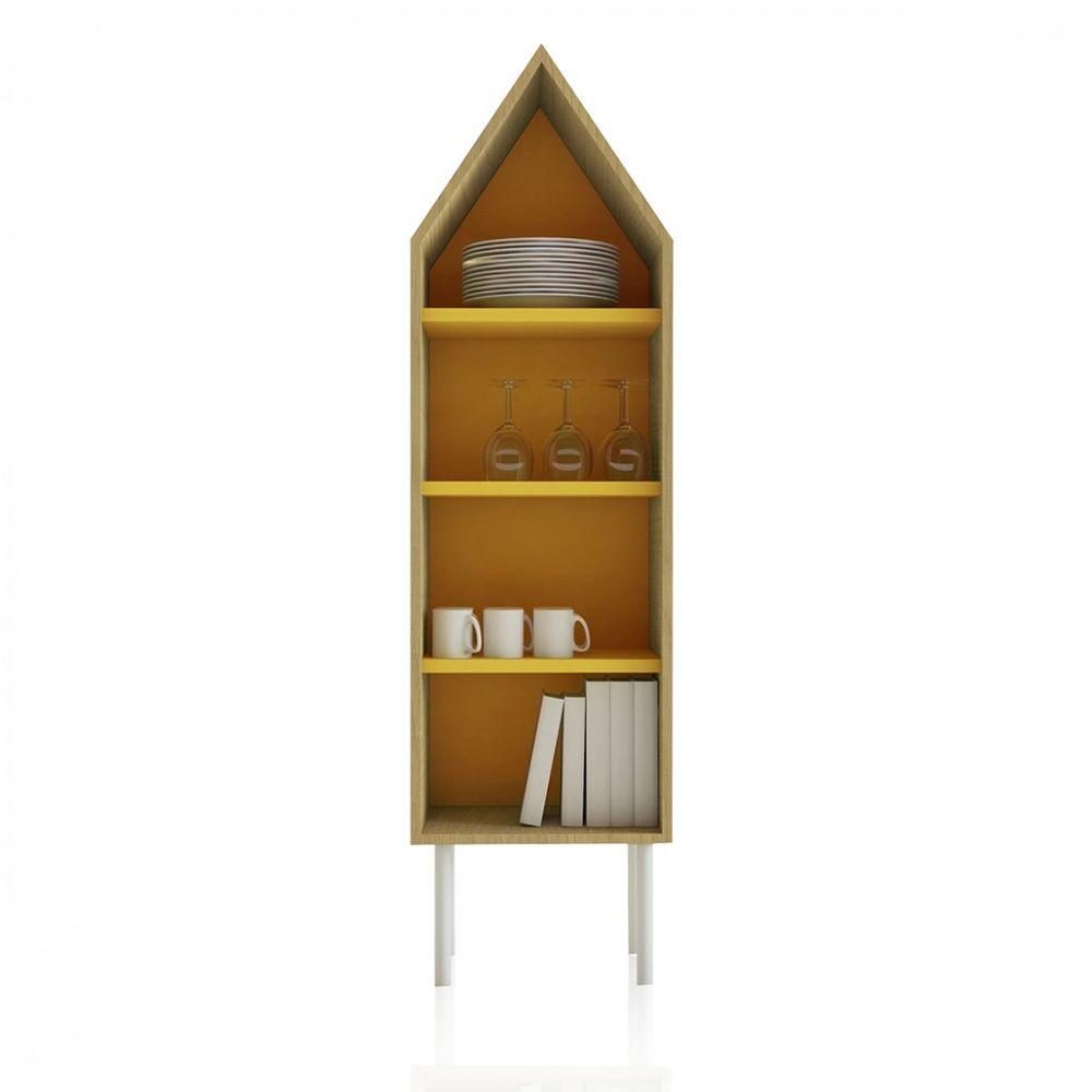 Levante buffet design valsecchi en contreplaqu for Porte jaune salon