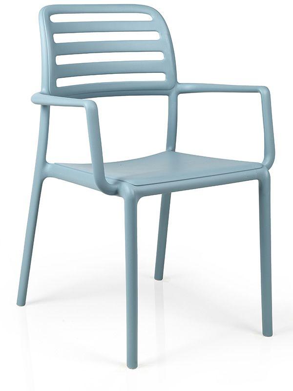 costa fauteuil en r sine avec fibre de verre empilable. Black Bedroom Furniture Sets. Home Design Ideas