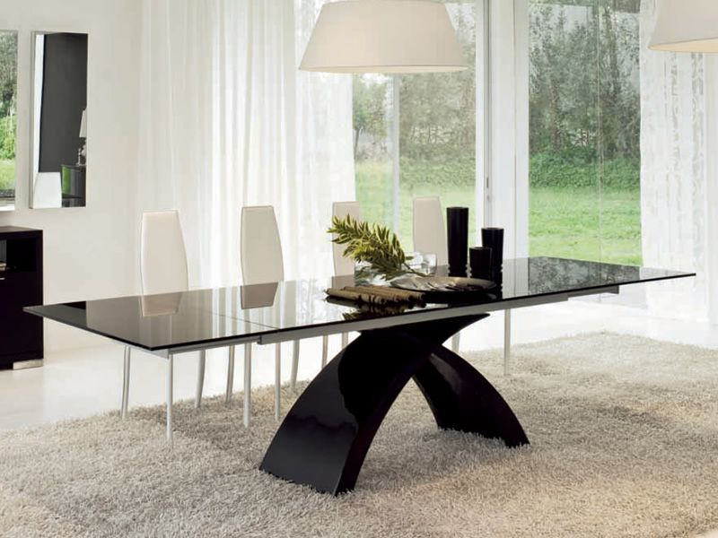 Tokyo-A 6951: Tonin Casa extendable table made of agglomerated ...