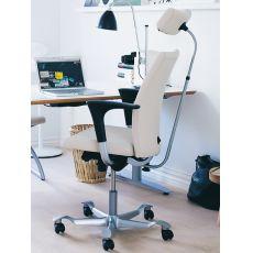 H04 ® - Chaise de bureau ergonomique HÅG, dossier en différentes measures