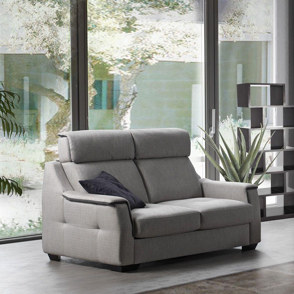 Sambuco divano letto a 2 3 posti o 3 posti xl diversi rivestimenti e colori disponibili - Divano letto 2 posti ...
