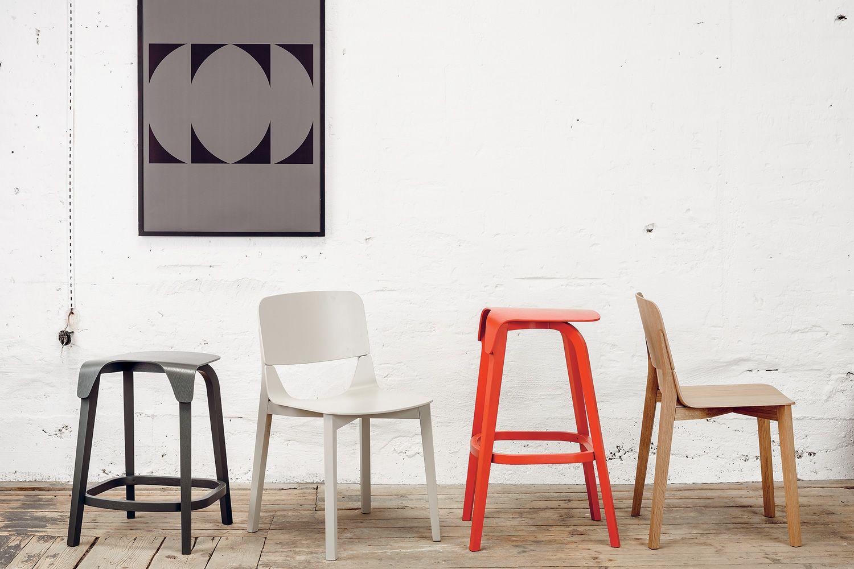 Leaf sedia ton in legno con seduta in legno sediarreda for Sedie di design