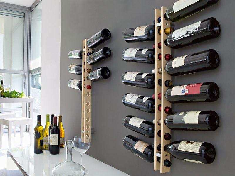 cs5052 arsenal calligaris flaschenhalter aus holz an der wand zu befestigen sediarreda. Black Bedroom Furniture Sets. Home Design Ideas