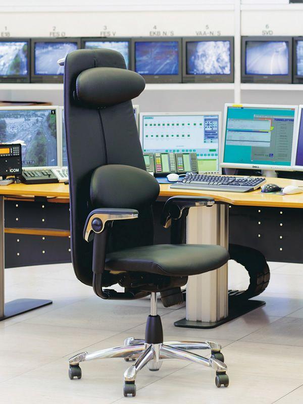 Preferenza H09 ® Classic - Sedia ufficio ergonomica HÅG, con poggiatesta  NT12