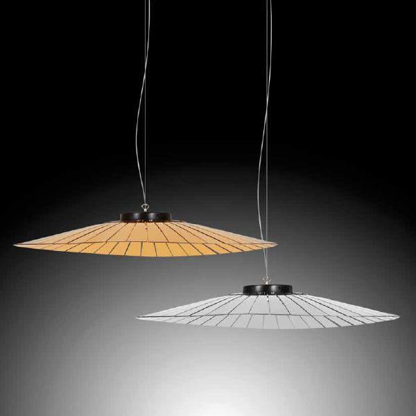 plume lampe suspension dot e de paralume en m thacrylate disponible en diff rentes couleurs. Black Bedroom Furniture Sets. Home Design Ideas