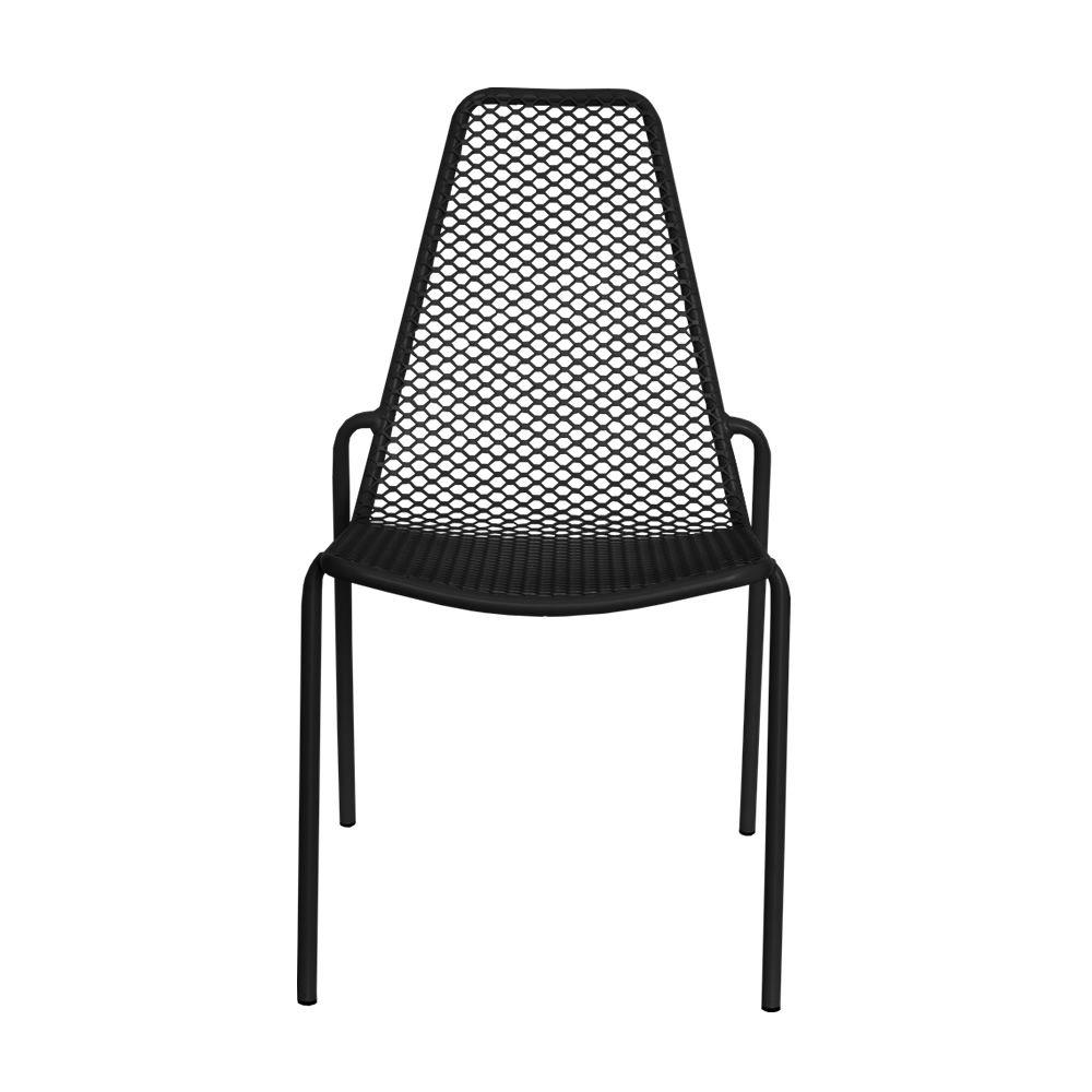 Bemerkenswert Metall Stuhl Sammlung Von Violett Lackiert Rada - Metallstuhl, Stapelbar, Für