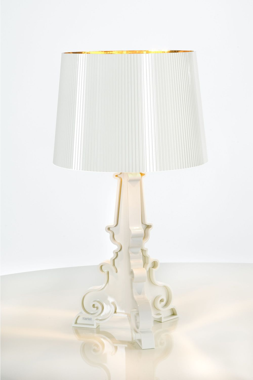 Bourgie lampe de table kartell en polycarbonate et abs for Lampe kartell bourgie petit modele