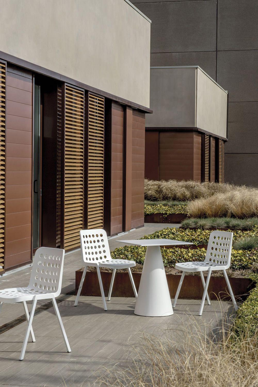 Koi booki 370 per bar e ristoranti sedia per bar in - Colore esterno casa bianco ...