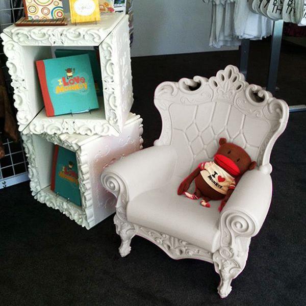 Little Queen of Love - Slide polyethylene armchair, also for garden ...