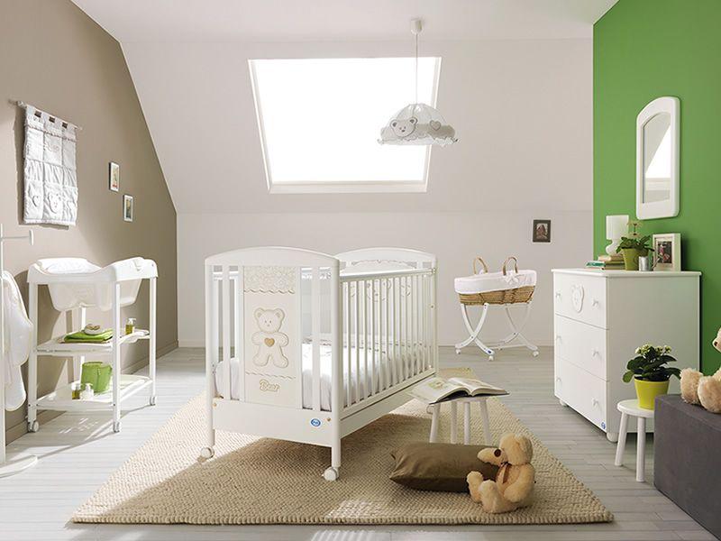 loving bear lit b b pali en bois avec tiroir sommier lattes r glable en hauteur sediarreda. Black Bedroom Furniture Sets. Home Design Ideas