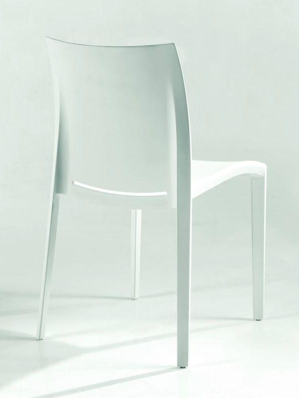 Go sedia moderna di colico in polipropilene di vari colori impilabile anche per esterno - Sedie di design outlet ...