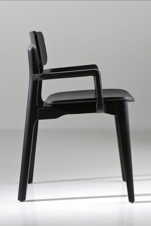 Poltroncine In Legno Con Braccioli.Cacao Sedia Di Design Chairs More In Legno Disponibile In