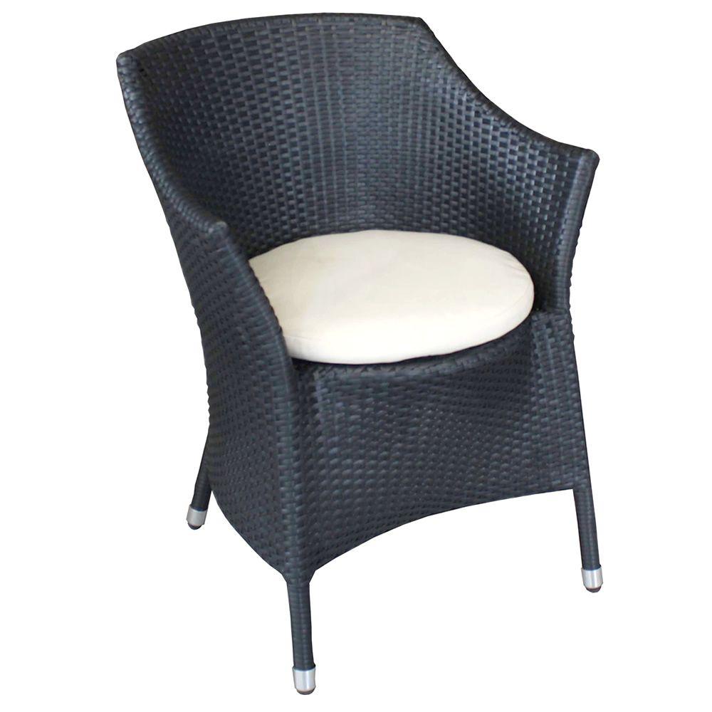 wings sessel aus aluminium und synthetischem rattan mit kissen f r den au enbereich sediarreda. Black Bedroom Furniture Sets. Home Design Ideas