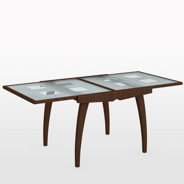 Cs368 vq enterprise glass table extensible calligaris en - Table verre extensible ...