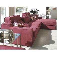 Catalogo divani soluzioni comode da personalizzare for Divano con penisola misure
