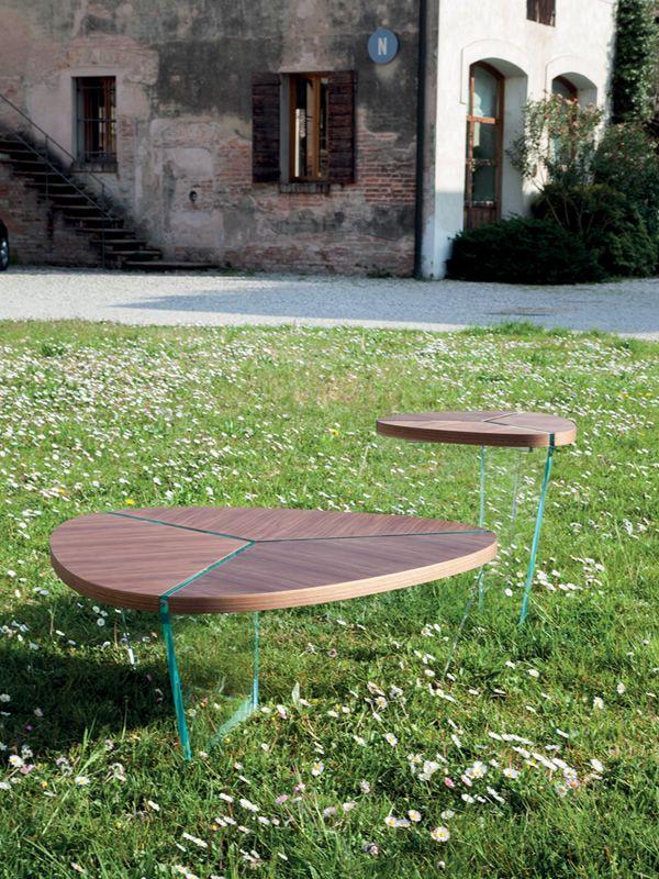 6037 aida tavolino tonin casa in legno e vetro diverse for Tavolini in legno e vetro