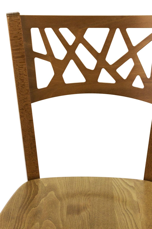 Mu170 para bare y restaurantes silla moderna de madera for Sillas para bares y restaurantes