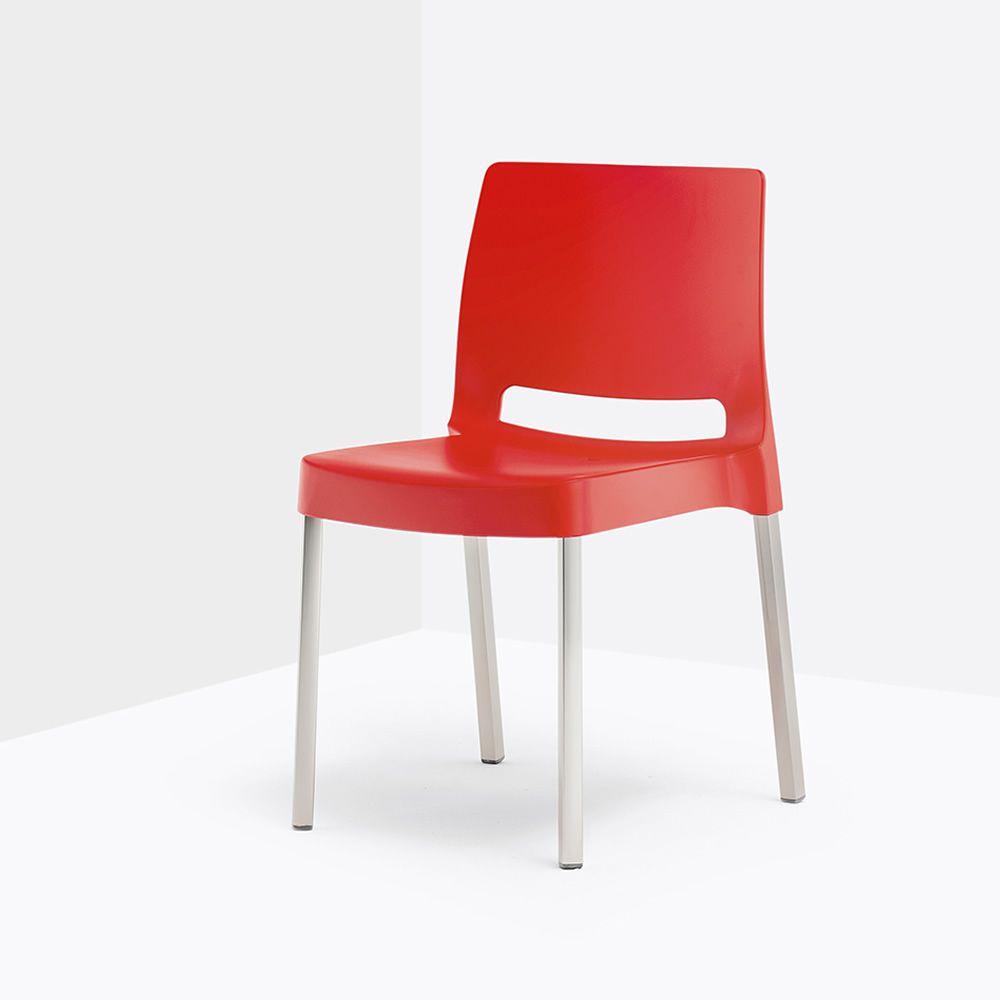 Joi 870 chaise pedrali en aluminium et polypropyl ne - Chaise de jardin couleur ...
