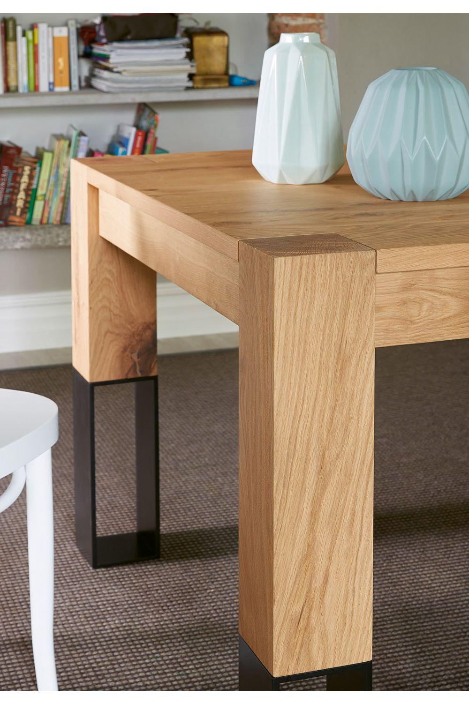 Acqua alta designer tisch colico aus holz mit beinen aus for Tisch bild von ivy design