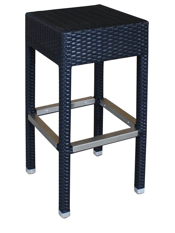 ar bc tabouret pour ext rieur en aluminium et. Black Bedroom Furniture Sets. Home Design Ideas