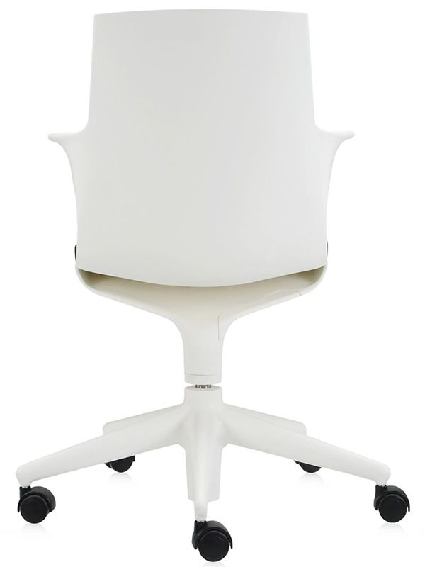 ... Spoon Chair   Kartell Chair In White Polypropylene ...