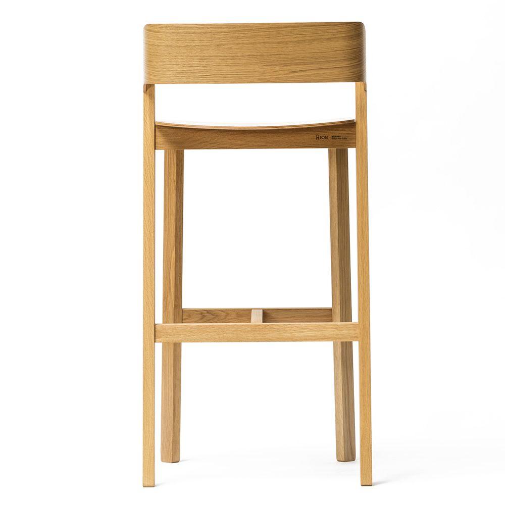 merano stool hocker ton aus holz mit sitz aus holz sitzh he 61 oder 78 cm sediarreda. Black Bedroom Furniture Sets. Home Design Ideas