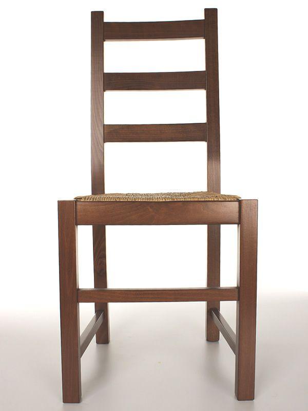 Mu82 pour bars et restaurants chaise rustique en bois - Chaise rustique bois et paille ...