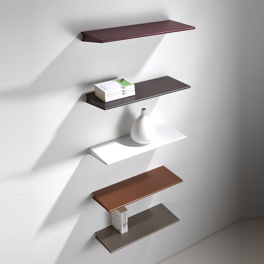 Mensole In Metallo Design.Ala Mensola In Metallo Verniciato Disponibile In Diverse Misure