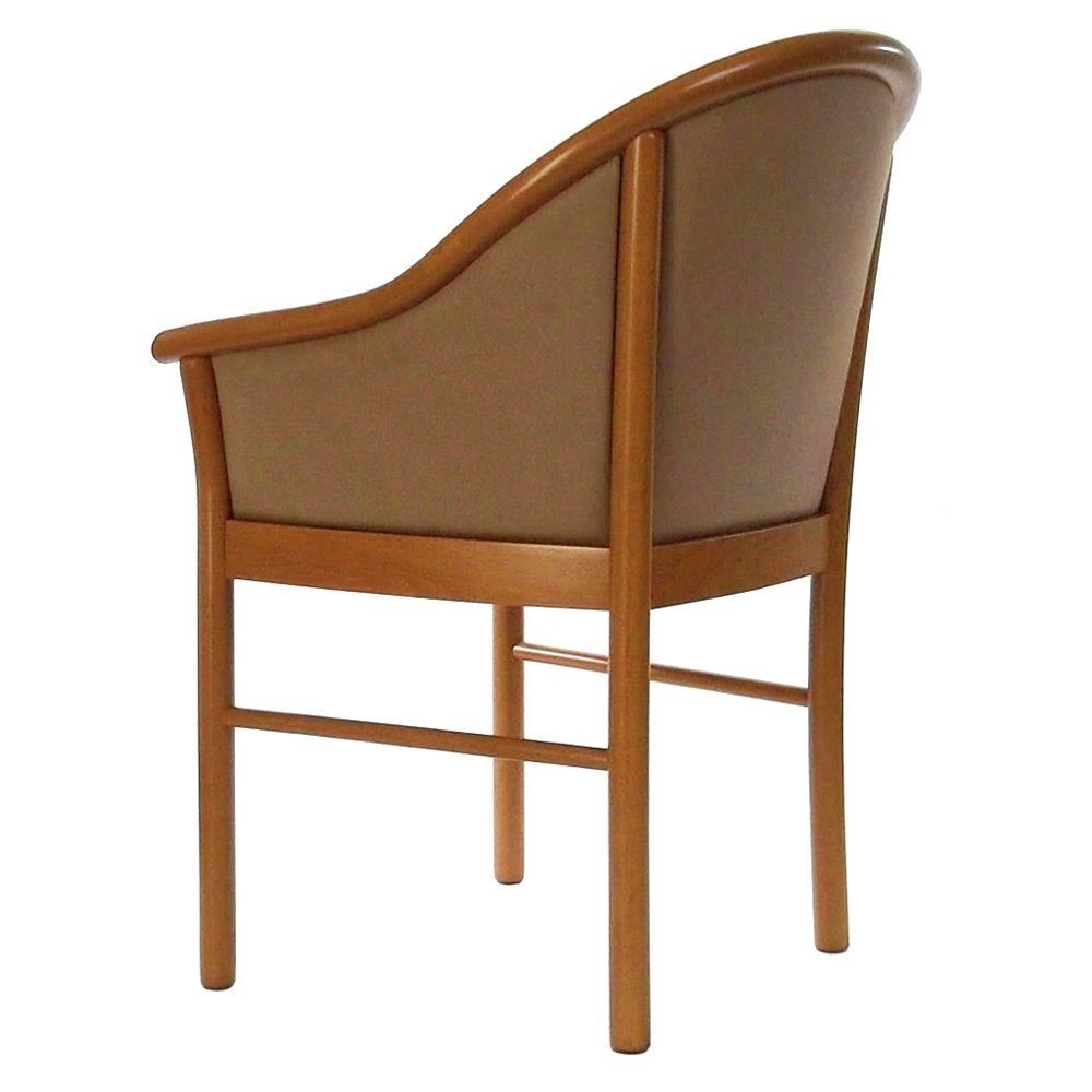 manuela i chaise en bois avec accoudoirs assise en. Black Bedroom Furniture Sets. Home Design Ideas