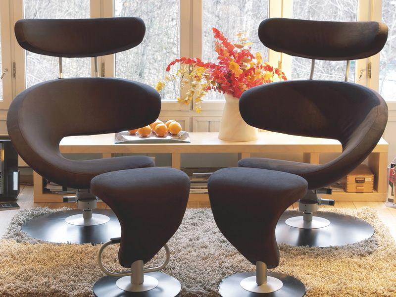 peel ergonomischer design sessel peel mit fu st tze in. Black Bedroom Furniture Sets. Home Design Ideas