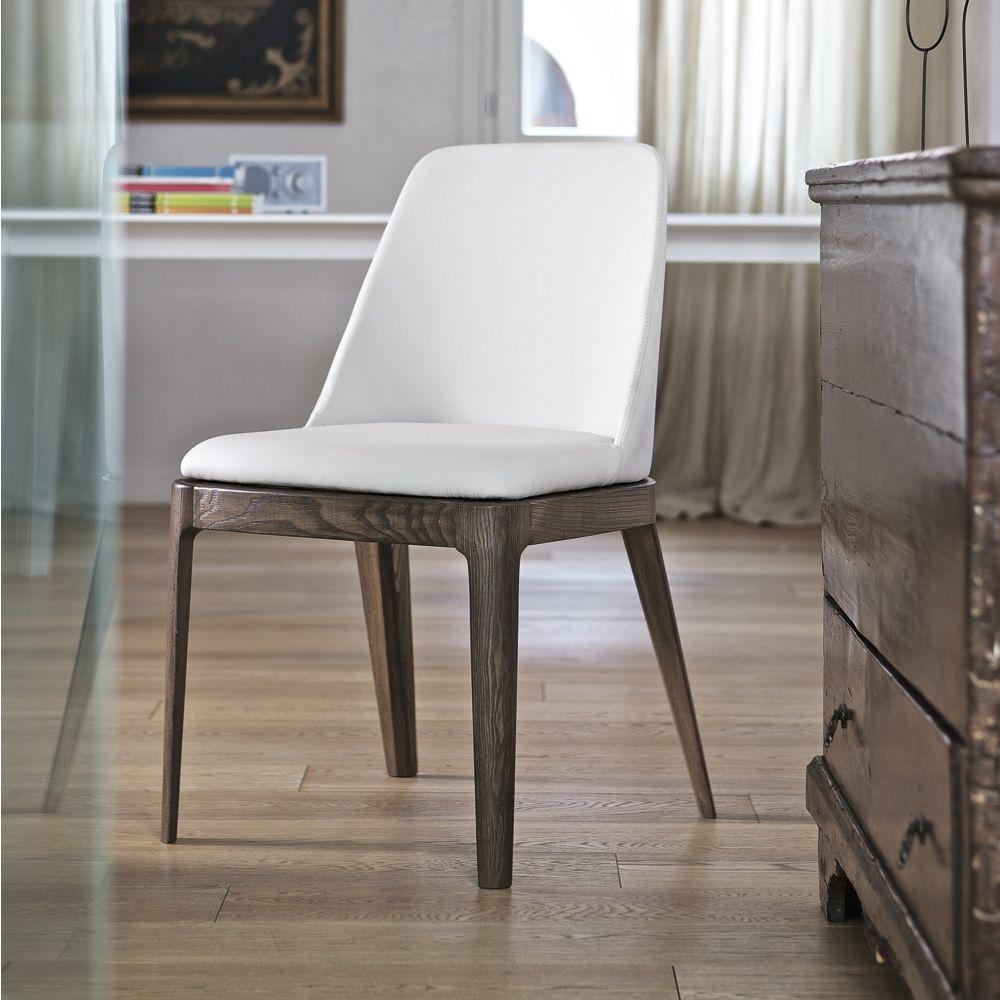 margot gepolsterter stuhl bontempi casa aus holz mit verschiedenen bez gen verf gbar sediarreda. Black Bedroom Furniture Sets. Home Design Ideas