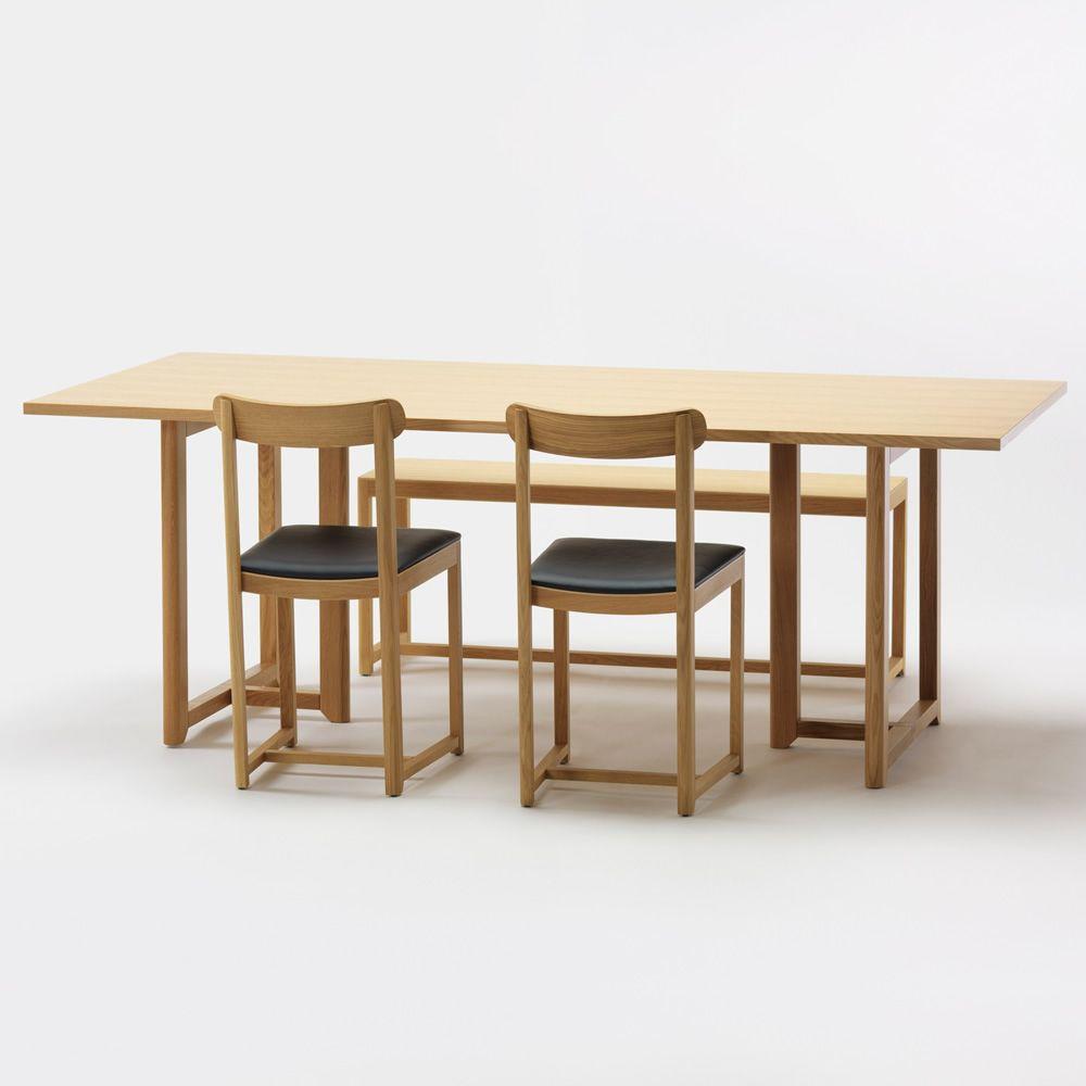 Seleri t tavolo rettangolare in rovere diverse misure e finiture disponibili sediarreda - Tavolo con sedie diverse ...