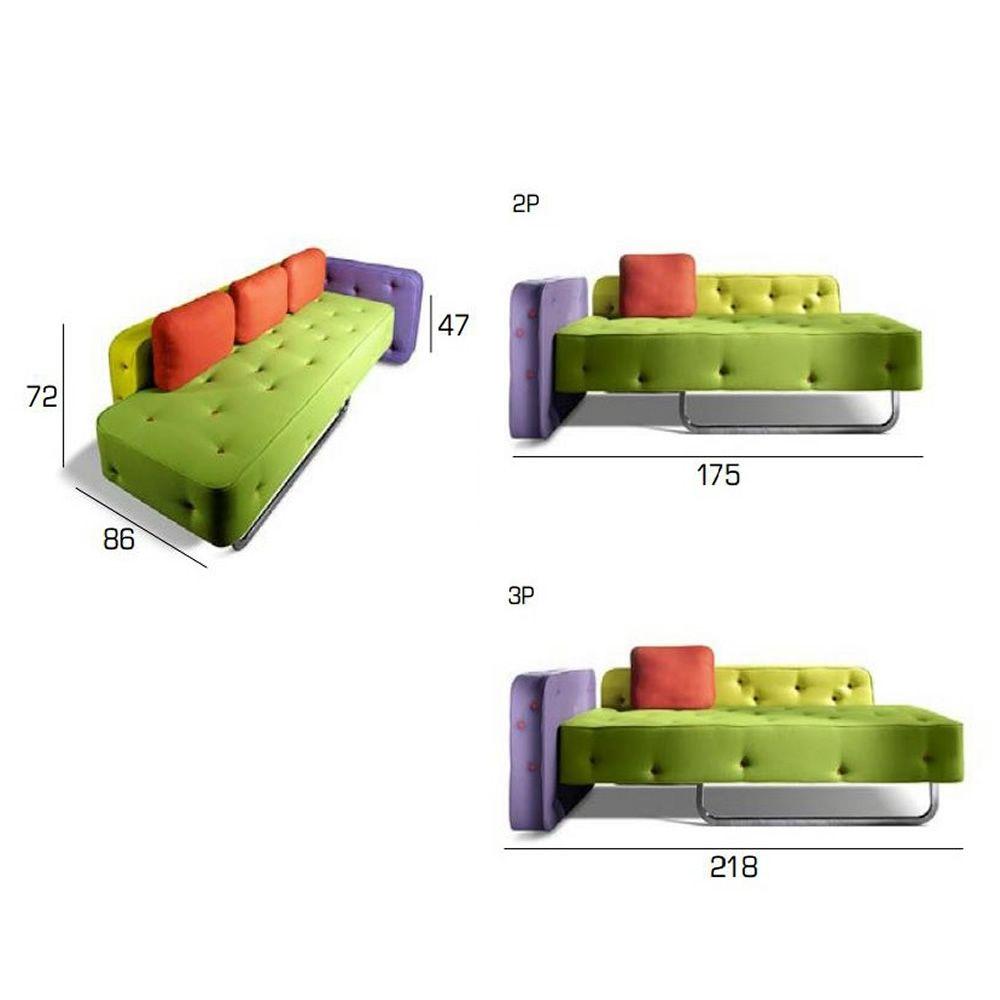 Divano Due Posti Design ~ Idee per il design della casa