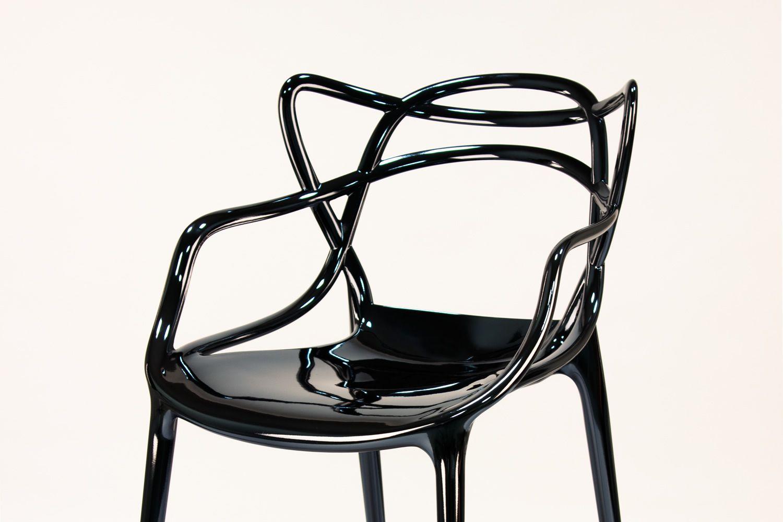 Sgabello Kartell Masters : Masters stool kartell design hocker aus polypropylen in