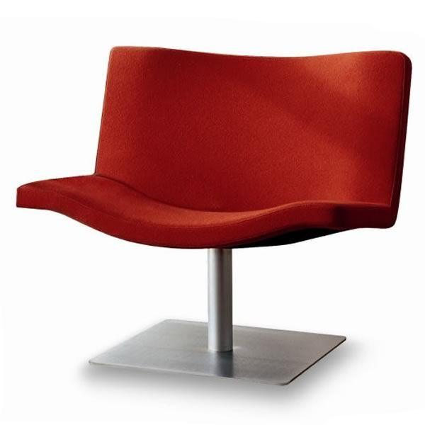 wave c poltrona design di tonon in pelle o tessuto sediarreda. Black Bedroom Furniture Sets. Home Design Ideas