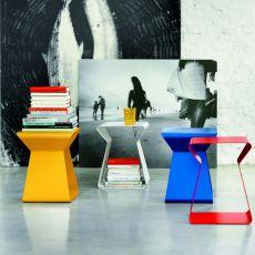 Kito - Tavolino di desing Bontempi Casa, in metallo laccato, diversi colori disponibili