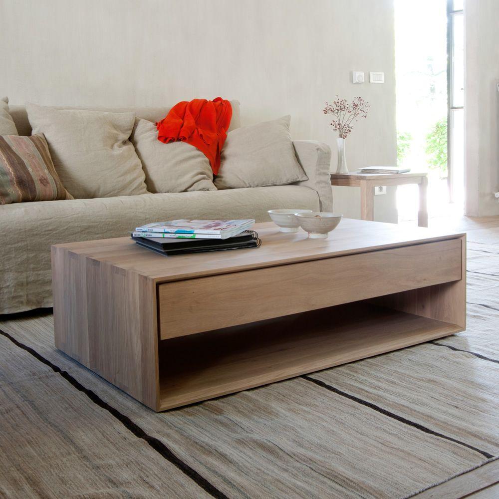 nordic t beistelltisch ethnicraft aus holz mit. Black Bedroom Furniture Sets. Home Design Ideas