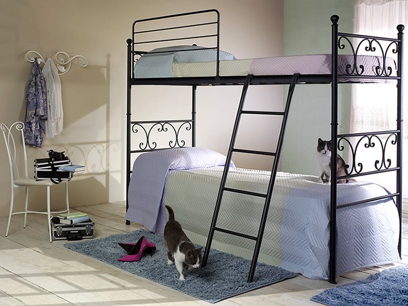 vienna c lits superpos s en fer disponible en. Black Bedroom Furniture Sets. Home Design Ideas