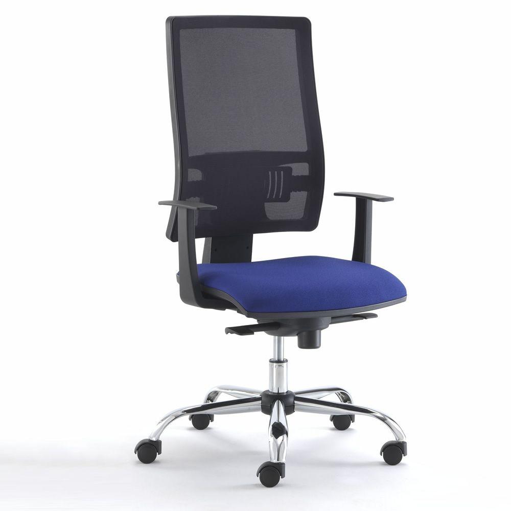 Ml492 sedia operativa da ufficio certificata schienale for Sedia da ufficio