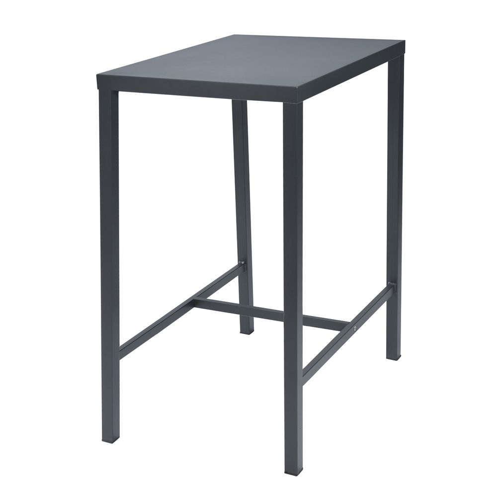Rig72th high metal table different sizes and colours for Table th width