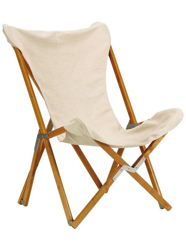 Tripolina silla para exteriores plegable de madera de for Sillas plegables jardin