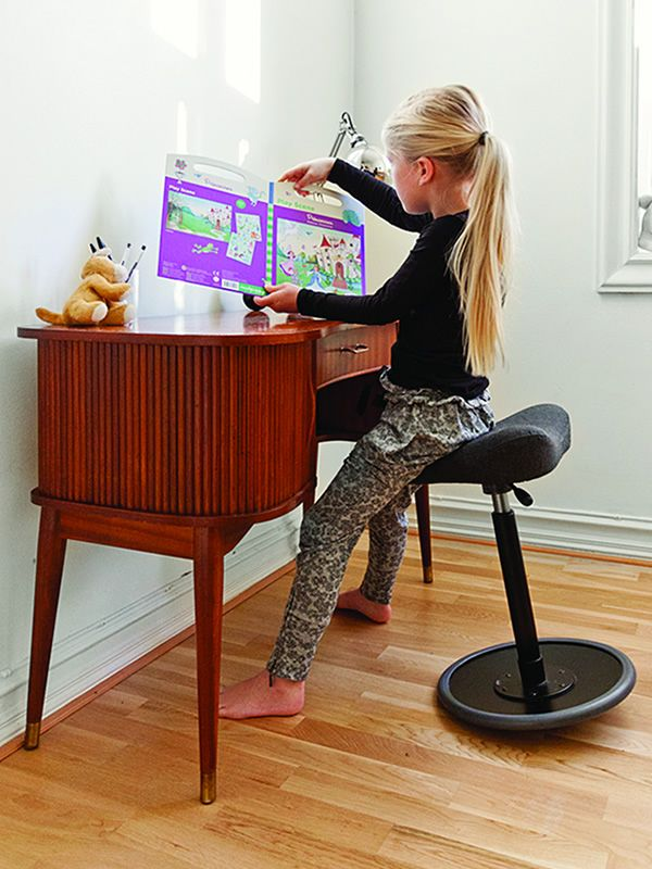 move kids tabouret ergonomique r glable vari r. Black Bedroom Furniture Sets. Home Design Ideas