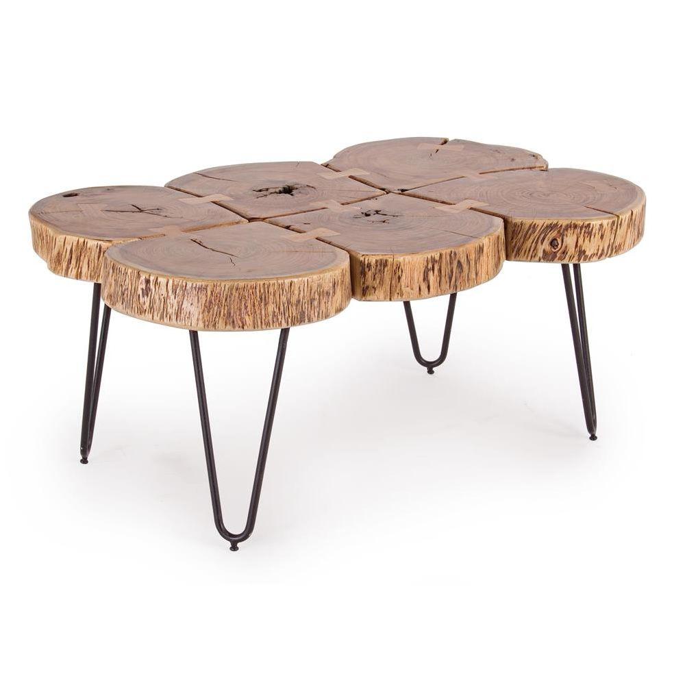 ... vintage, 90x60 cm, con base in metallo e piano in legno - Sediarreda